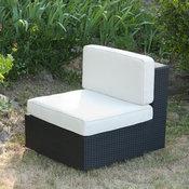 chauffeuse de jardin r sine tress e avec coussins tonina acheter ce produit au meilleur prix. Black Bedroom Furniture Sets. Home Design Ideas