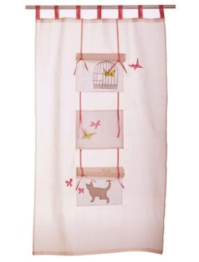 rideaux fille vous with rideaux fille rideau deconovo. Black Bedroom Furniture Sets. Home Design Ideas