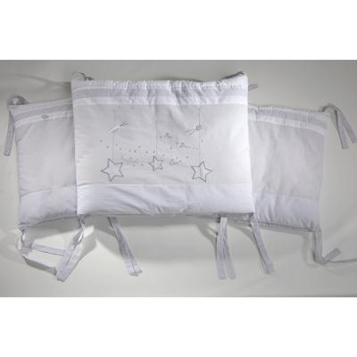 tour de lit ouatin absorba ligne toil e acheter ce produit au meilleur prix. Black Bedroom Furniture Sets. Home Design Ideas