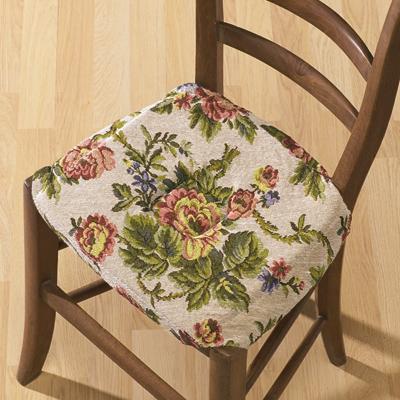 lot de 2 couvre chaises gobelin matelass acheter ce produit au meilleur prix. Black Bedroom Furniture Sets. Home Design Ideas