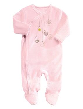 pyjama bebe naissance en velours de coton bio vertbaudet acheter ce produit au meilleur prix. Black Bedroom Furniture Sets. Home Design Ideas