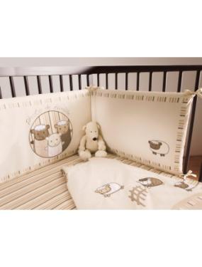 tour de lit mouton bébé Tour de lit bio doux moutons vertbaudet   Acheter ce produit au  tour de lit mouton bébé