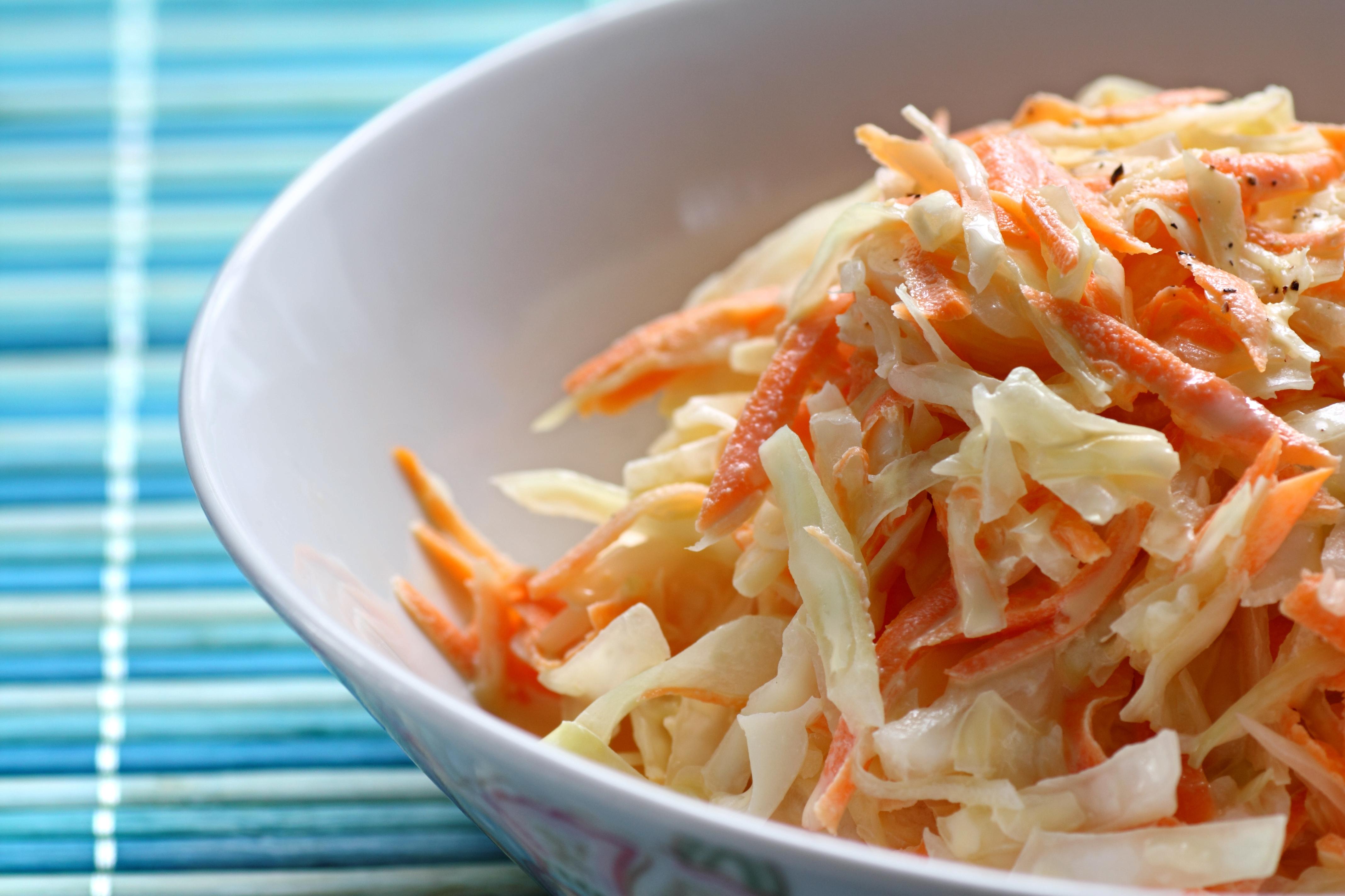 Salade de choux et carottes