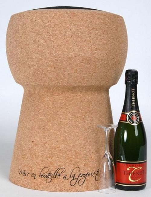 tabouret bouchon de champagne extralarge acheter ce produit au meilleur prix. Black Bedroom Furniture Sets. Home Design Ideas