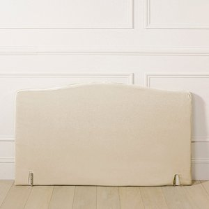 housse pour t te de lit forme louis xv acheter ce produit au meilleur prix. Black Bedroom Furniture Sets. Home Design Ideas