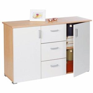 buffet bas 2 portes et 3 tiroirs acheter ce produit au meilleur prix. Black Bedroom Furniture Sets. Home Design Ideas