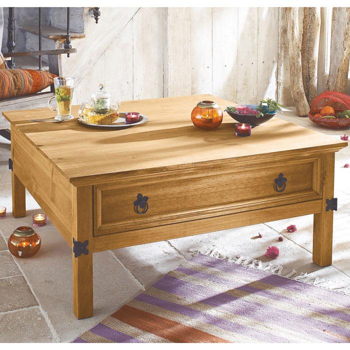 table basse coffre el patio. Black Bedroom Furniture Sets. Home Design Ideas