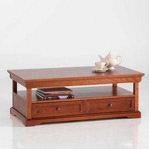 table basse louis philippe pin massif acheter ce produit au meilleur prix. Black Bedroom Furniture Sets. Home Design Ideas