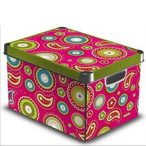 boite rangement d co d cor india 125 l 25 l acheter ce produit au meilleur prix. Black Bedroom Furniture Sets. Home Design Ideas
