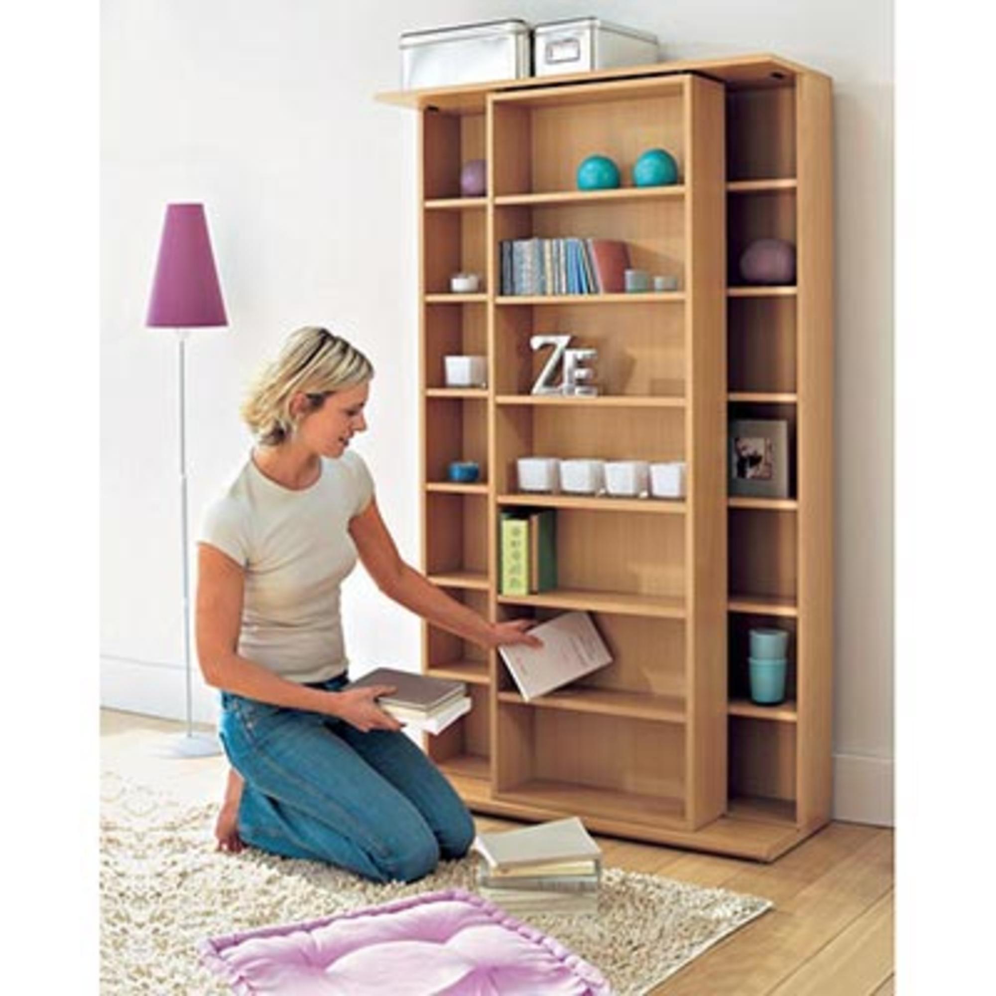 biblioth que coulissante slide h tre anniversaire 40 ans acheter ce produit au meilleur prix. Black Bedroom Furniture Sets. Home Design Ideas