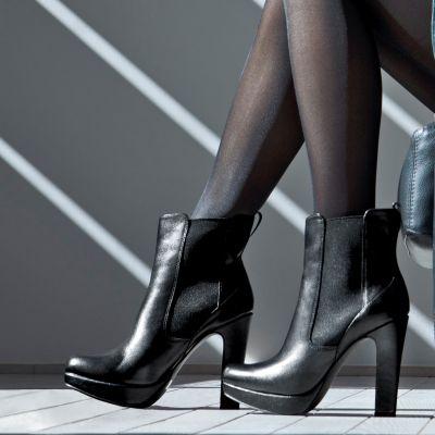 Chaussures boots à plateau femme du 36 au 41