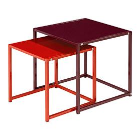 Set de 2 tables basses jumelle absolument maison acheter for Absolument maison bhv