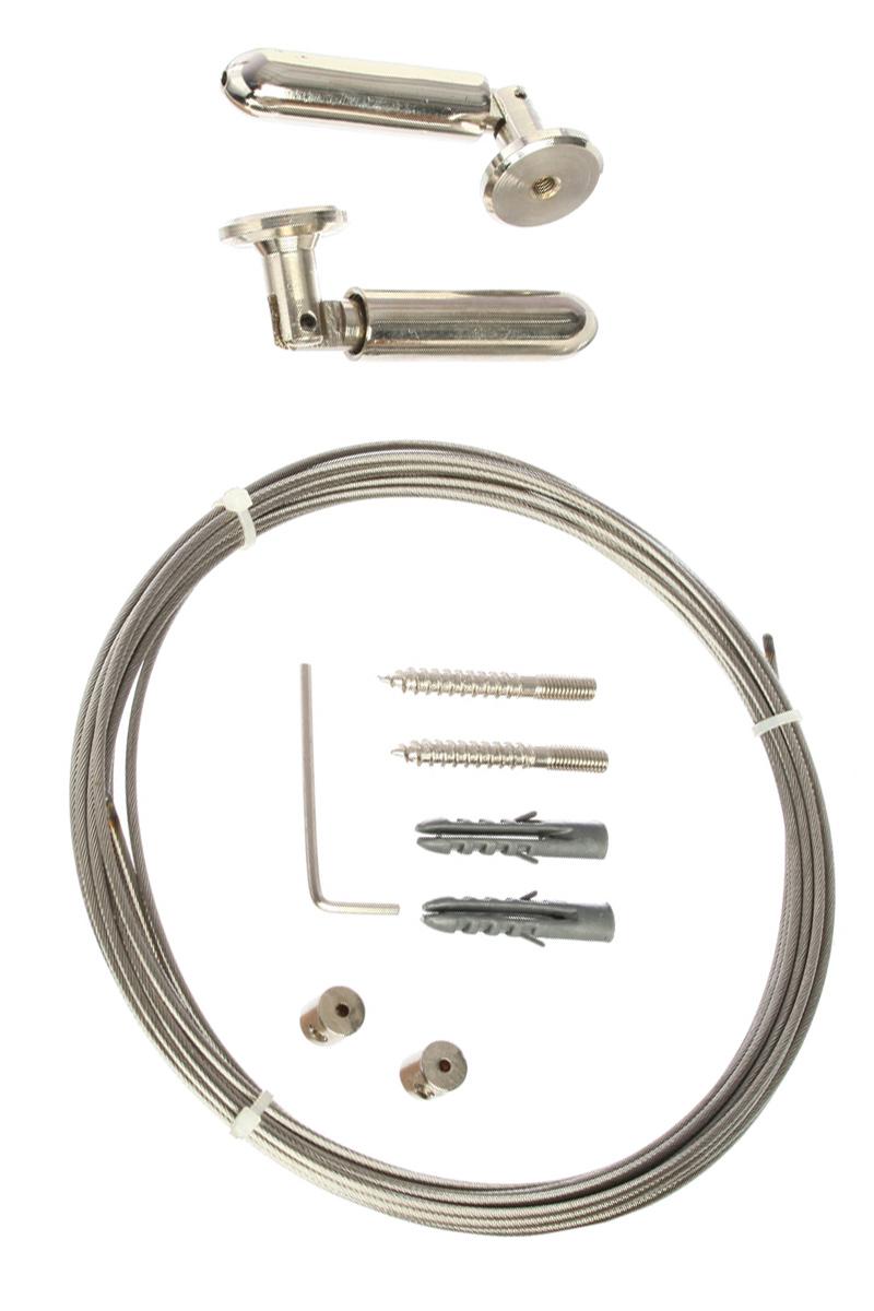 Tringle cabl e en acier 5 m tres acheter ce produit au meilleur prix - Tringle a rideau cable acier ...