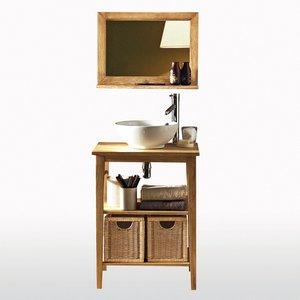 meuble salle de bain 1 vasque prt brancher mala