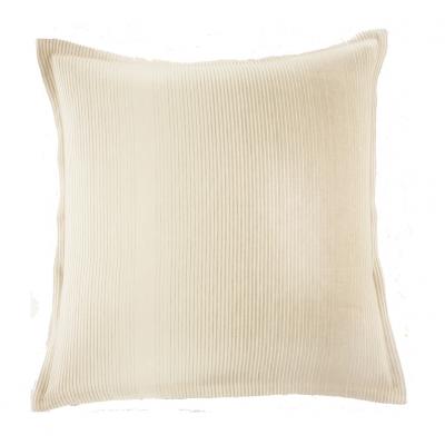 taie d 39 oreiller wesley naturel 50x75 acheter ce produit au meilleur prix. Black Bedroom Furniture Sets. Home Design Ideas