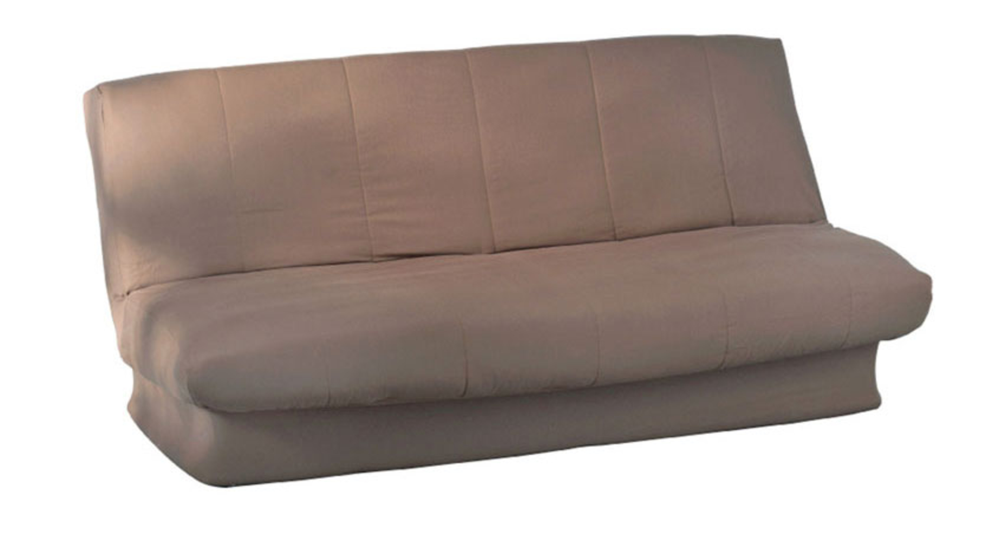 housse clic clac matelass e myl ne taupe frais de traitement de commande offerts acheter. Black Bedroom Furniture Sets. Home Design Ideas