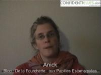 Interview Anick - De la fourchette... aux papilles estomaquées