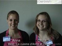 Interview d'Anna et Olivia - La cuisine d'Anna et Olivia