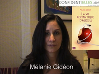Interview de Melanie Gideon : La vie romantique d'Alice B.
