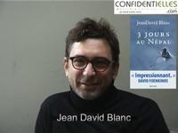Interview de JeanDavid Blanc pour son livre : 3 jours au Népal