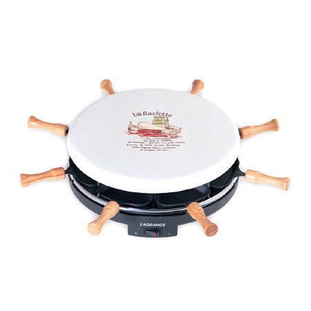 Raclette au crabe
