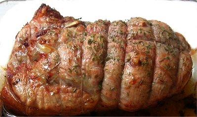 Rôti de veau aux senteurs italiennes