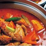 Poulet curry maison