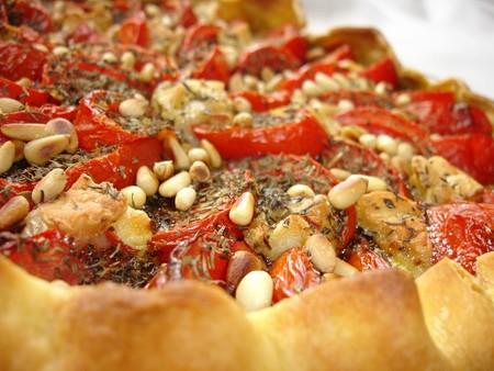 Tarte aux tomates provencales