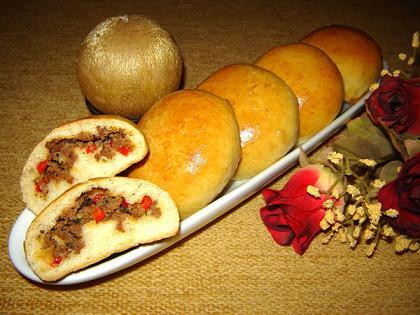 bun's (pains farcis à la viande)