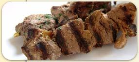 Brochettes d'agneau à la pékinoise