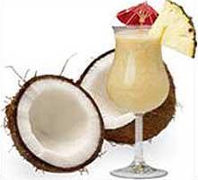 Pina colada coco banane