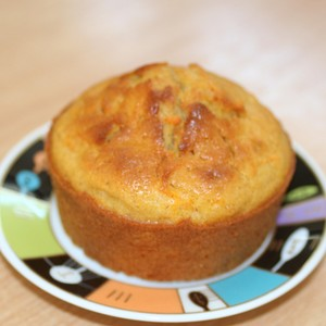 Muffins carotte et cannel