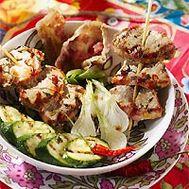 Brochette de filet de porc
