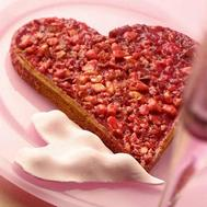Tarte à la praline de la Saint Valentin