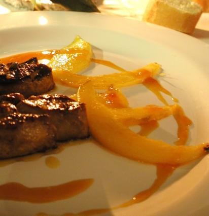 foie gras po l la mangue et jus d 39 orange toutes les recettes et conseils de cuisine. Black Bedroom Furniture Sets. Home Design Ideas
