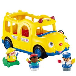 Coffret bus et personnages little people - Toute l\'enfance est sur ...