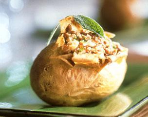 Pommes de terre farcies, recette facile pour les enfa