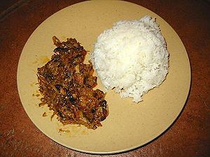 Carri baba-figue avec boucané