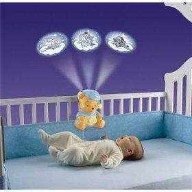 Veilleuse winnie l ourson nuits toil es toute l 39 enfance est sur confidentielles - Veilleuse lumiere plafond ...