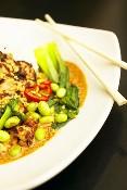 Salade Mikado aux champignons de Sophie Menut