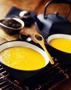 crème à la mandarine et au thé
