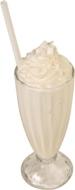 Milk shake a l'abricot
