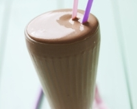 Smoothie bananes-chocolat