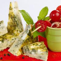 Frittata au fromage de chèvre et aux herbes fraîches