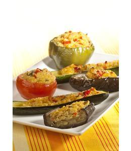 Légumes farcis au quinoa et au Comté