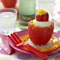 Tomates et œufs au thon façon poupées russes