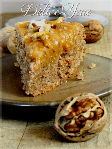 L'arboisien (Gâteau au noix & amandes)