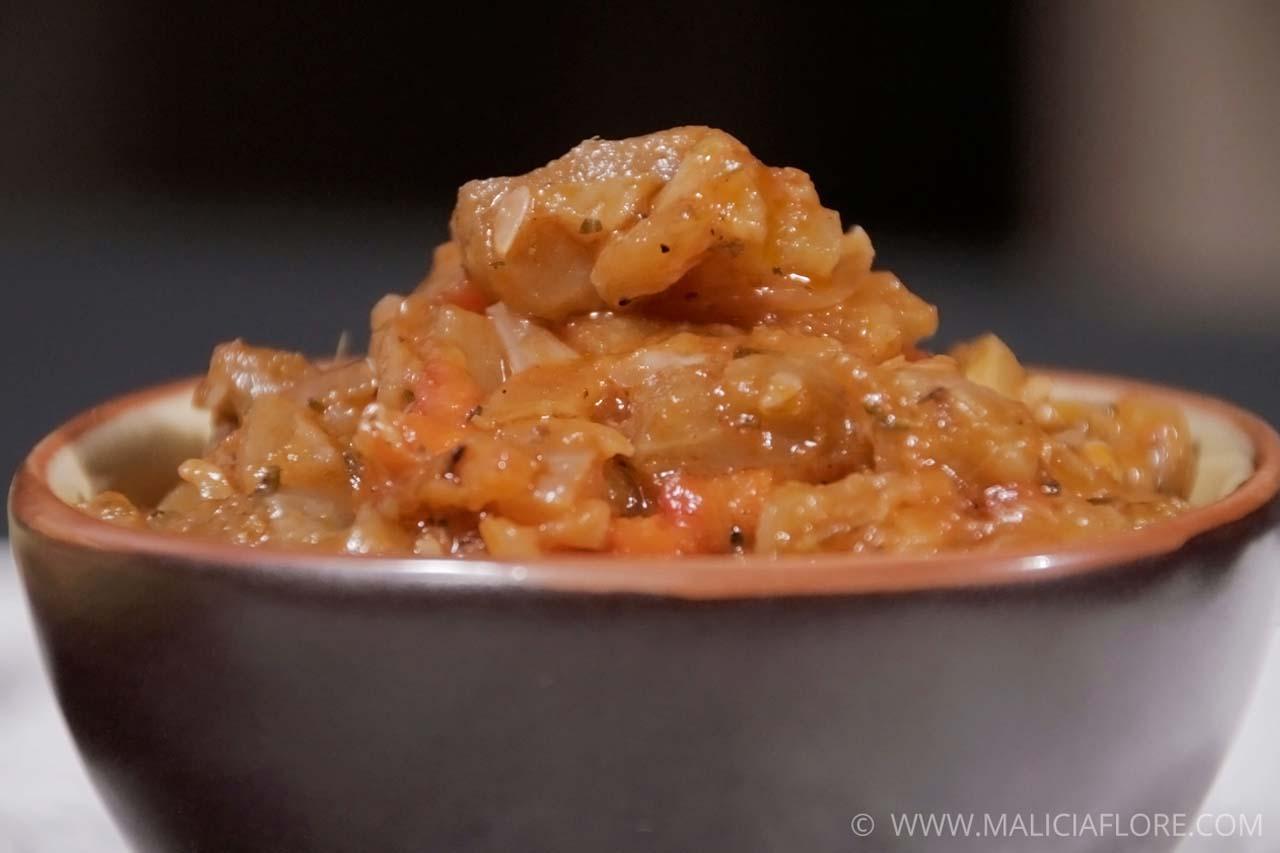 Hachis proven al sur lit de polenta - Lit provencal ...