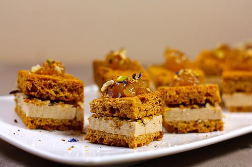 Mini-sandwichs au foie gras