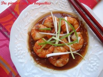 Crevettes sautées au tamarin